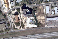 Drury Hotels Iron Fire Concept | San Antonio_overall aerial concept thumb