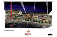 baton rouge river development concept baton rouge boardwalk color concept sketches 11x17 4 thumb