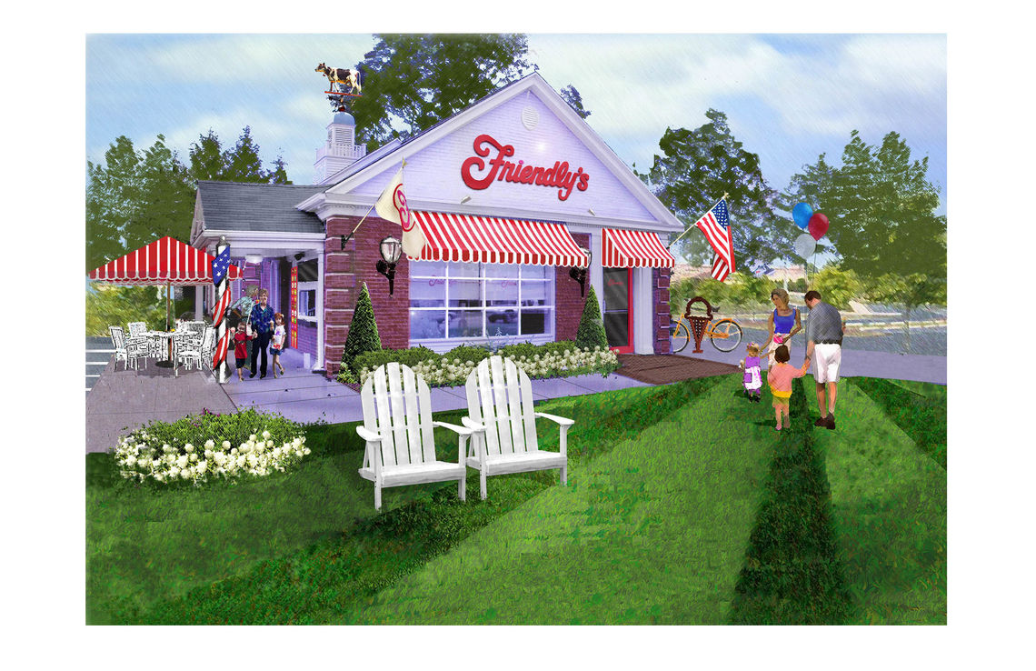 Friendly's Exterior 1