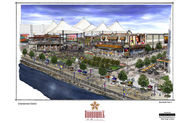 baton rouge river development concept baton rouge boardwalk color concept sketches 11x17 3 thumb