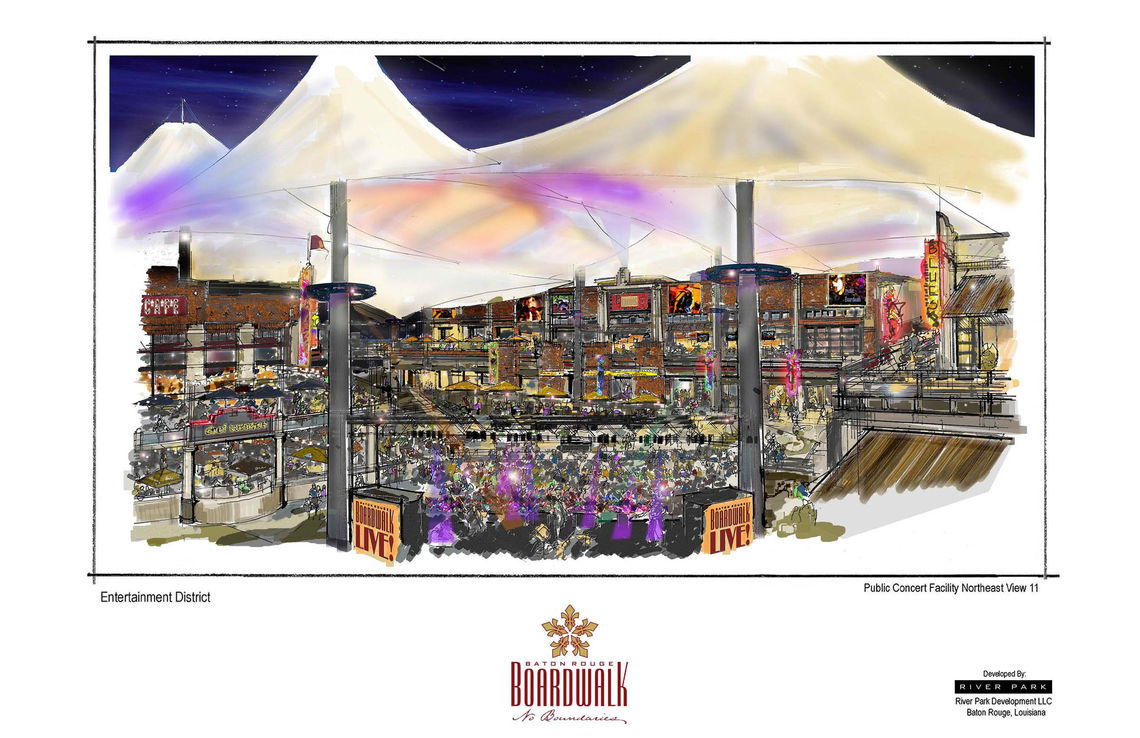 baton rouge river development concept baton rouge boardwalk color concept sketches 11x17 12