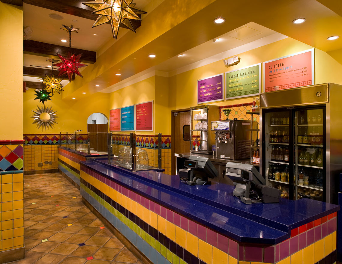 margee drews design downtown disney california taqueria
